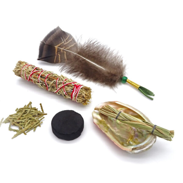 beginners sage smudge set at surrendertohappiness.com