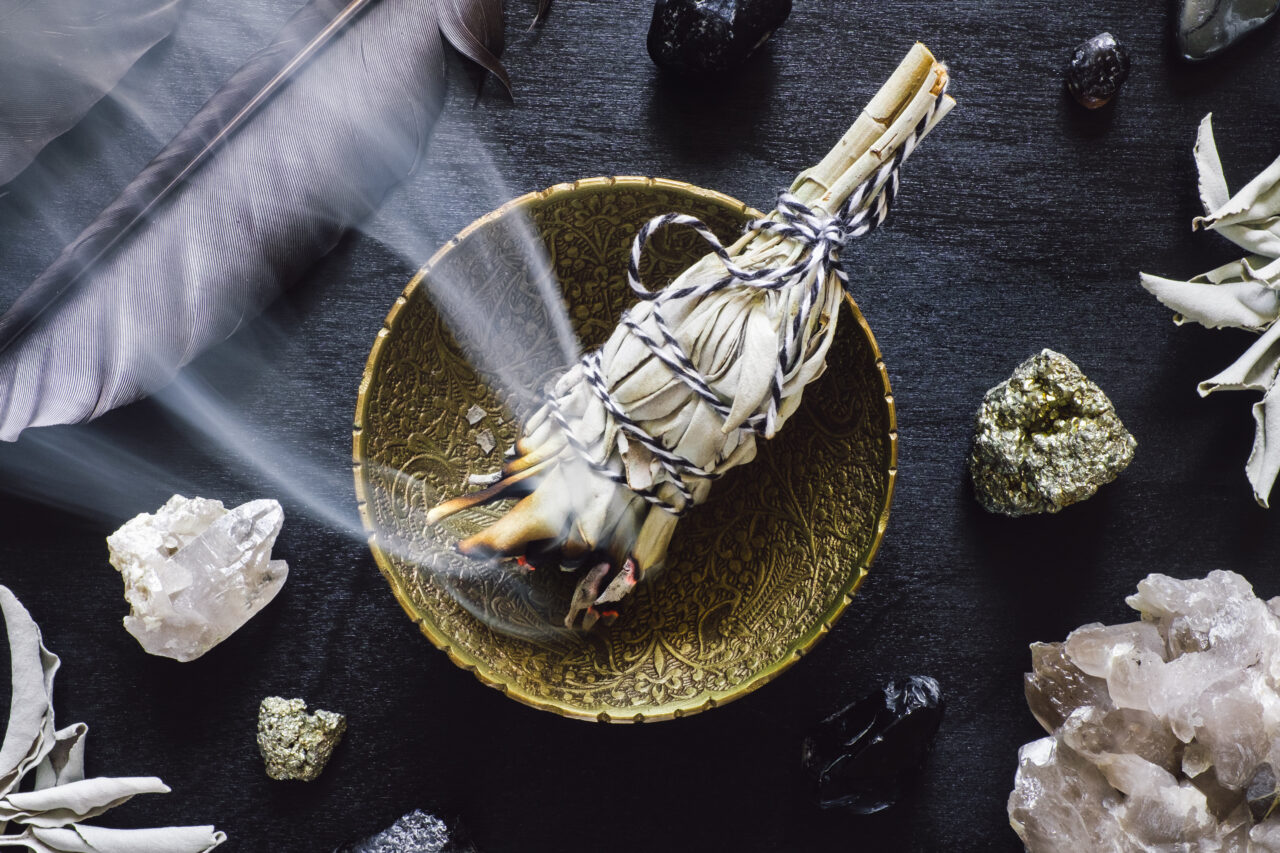 A beginner's guide to smudging your space.