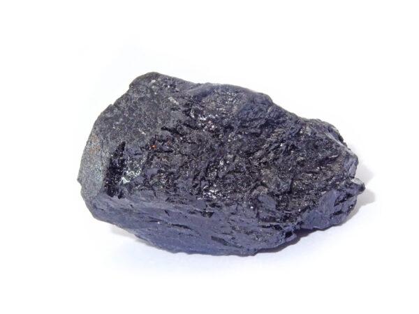 black tourmaline rough crystal