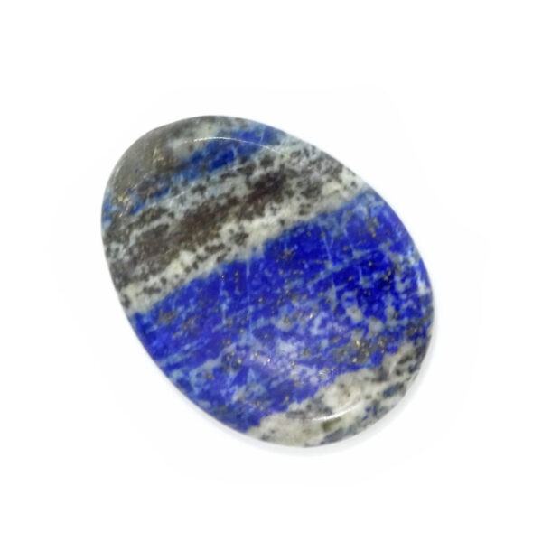 lapis lazuli worry stone at surrendertohappiness.com