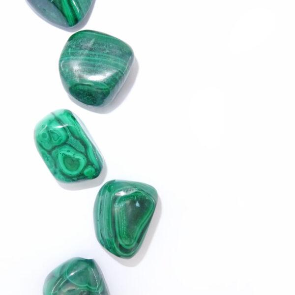 malachite tumblestone at surrendertohappiness.com