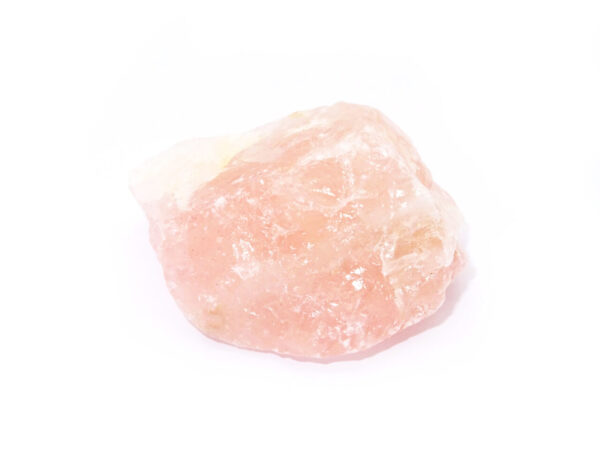 rose quartz rough crystal