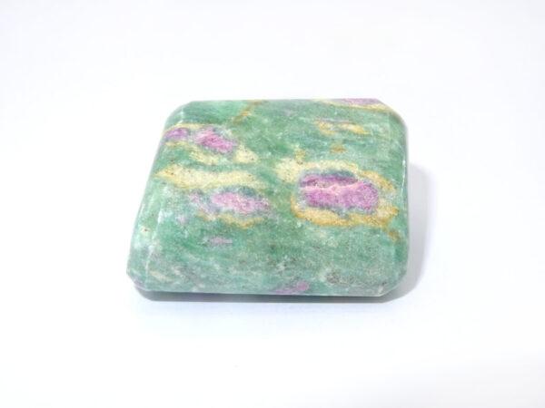 ruby in fuchsite tumblestone