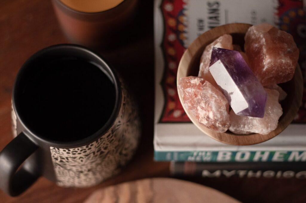 crystals for gratitude practice