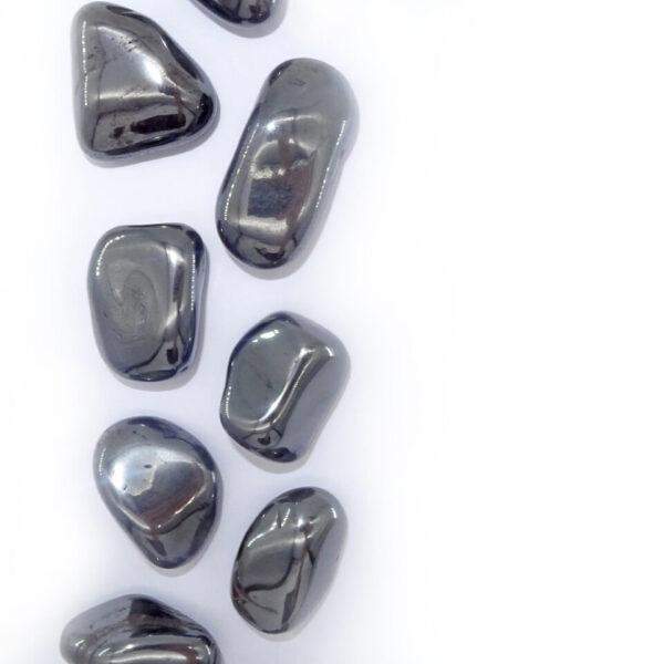 hematite tumblestone at surrendertohappiness.com