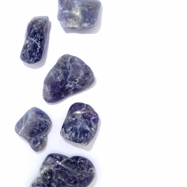 iolite tumblestone at surrendertohappiness.com