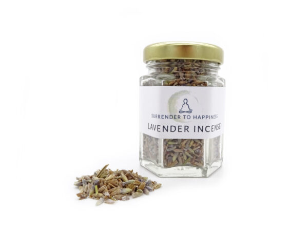 dried lavender incense flowers