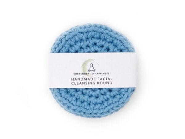 blue facial scrubbies at surrendertohappiness.com