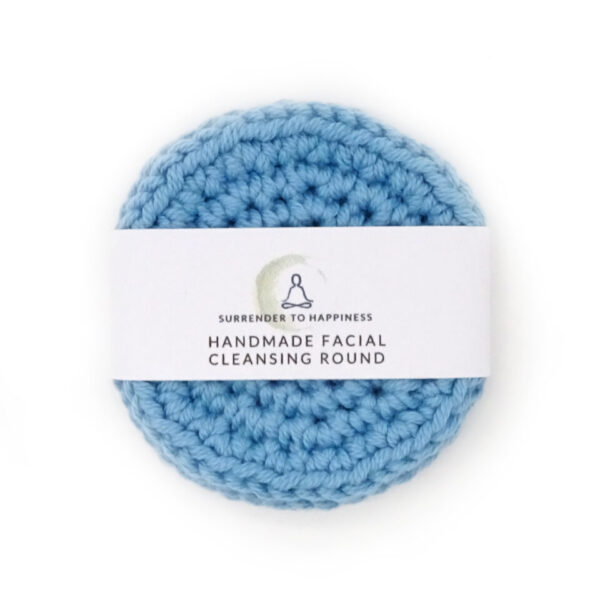 blue facial scrubbies at surrendertohappiness.com