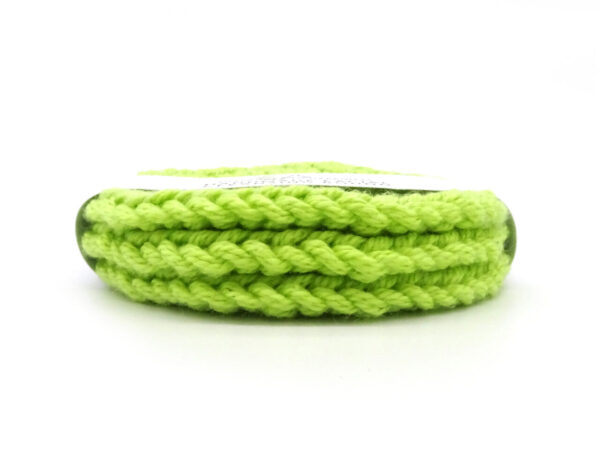 green facial scrubbies