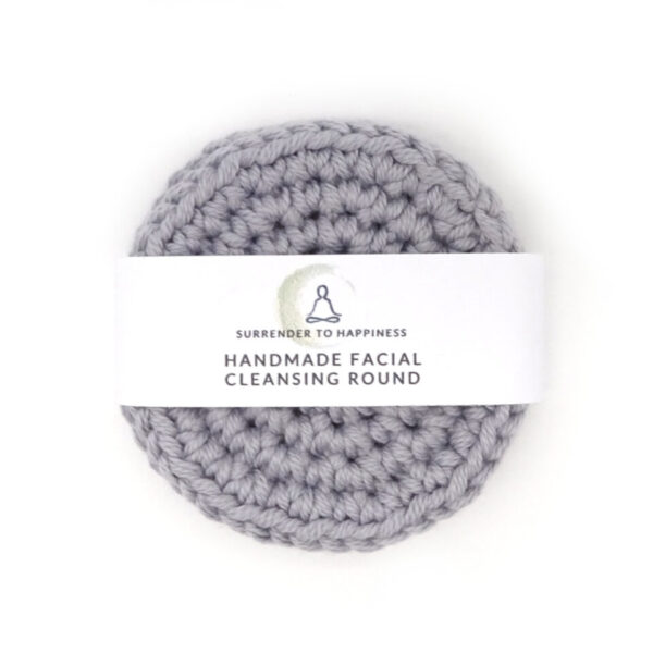 handmade cleansing rounds grey at surrendertohappiness.com
