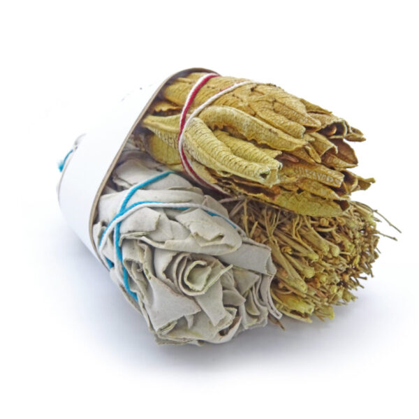 smudging bundle at surrendertohappiness.com