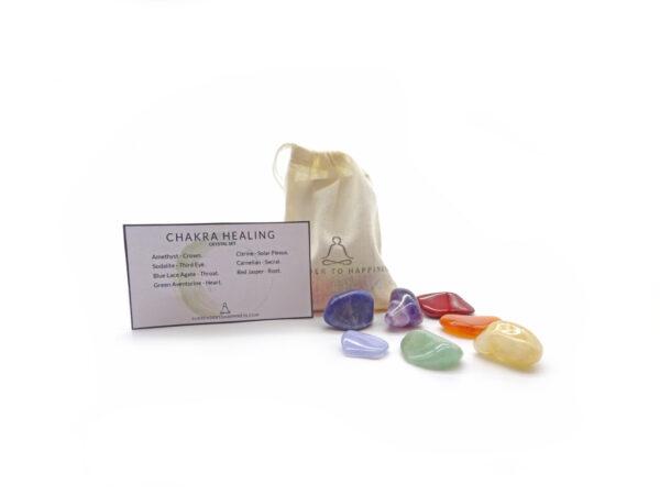 chakra crystal set at surrendertohappiness.com
