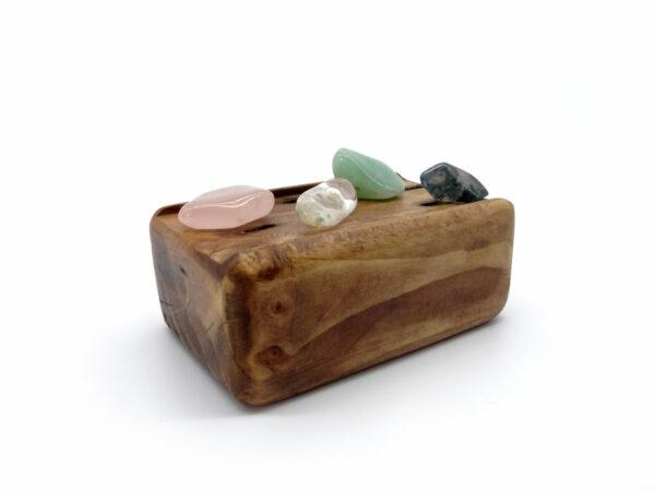 reclaimed crystal holder 13 at surrendertohappiness.com